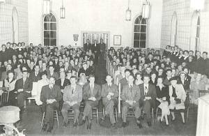 Sanctuary 1949_congregation